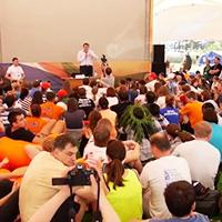 Выступление на форуме Селигер 2013
